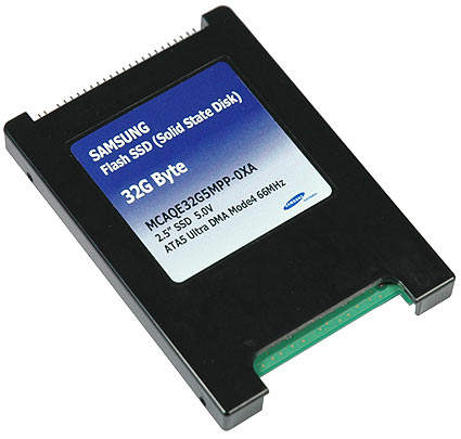 Samsung Solid State Disk (SSD)