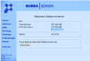 Bubba Mini Server Web Administration