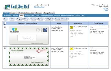 Postal Online Mail